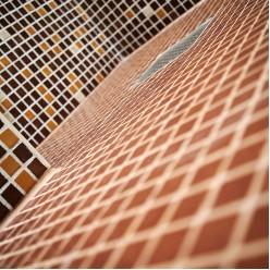 Стеклянная мозаика EZARRI 2504-D antislip