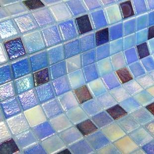 Стеклянная мозаика модели Delphinus