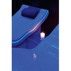 Стеклянная мозаика модели  Ezarri Fosfo Blue IRIS