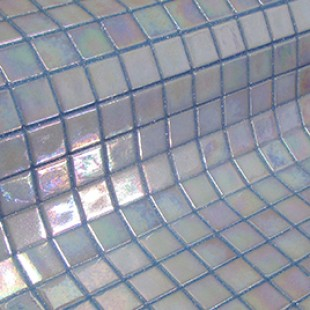 Стеклянная мозаика модели Fosfo Blue IRIS