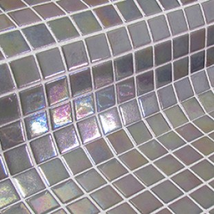 Стеклянная мозаика модели Fosfo Beige GREY