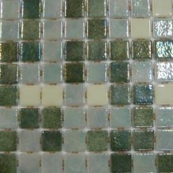 Стеклянная мозаика модели  Ezarri Premium Fosfo Green