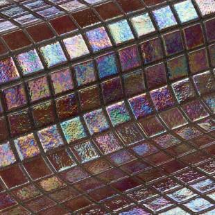 Стеклянная облицовочная мозаика модели Cobre