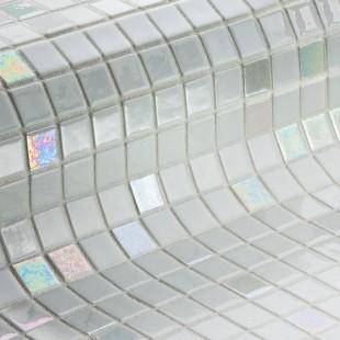 Стеклянная облицовочная мозаика модели Diamond