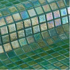 Стеклянная мозаика модели Ezarri Green Pearl