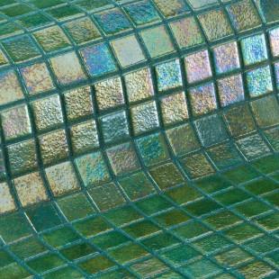 Green Pearl 3.6 стеклянная мозаика для ванных комнат и бассейнов, глянцевая