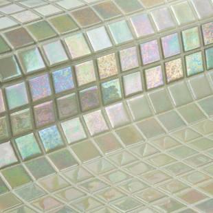 Marfil 3.6 стеклянная мозаика для ванных комнат и бассейнов, глянцевая
