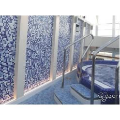 Стеклянная мозаика модели Ezarri Oasis
