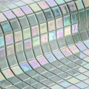 Стеклянная облицовочная мозаика модели Perla Safe Steps