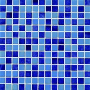 Стеклянная облицовочная мозаика модели Mix 25003-B