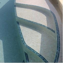 Стеклянная мозаика модели Ezarri Mix 25009-D