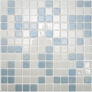Стеклянная облицовочная мозаика модели Mix 2545/2521