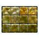 Ginger Ondulato неровная стеклянная мозаика с волнистым эффектом