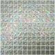 Snow Ondulato неровная стеклянная мозаика с волнистым эффектом