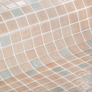 Стеклянная облицовочная мозаика модели 2514-B Safe Step