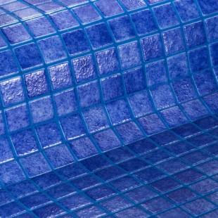 Стеклянная облицовочная мозаика модели 2562-B Safe