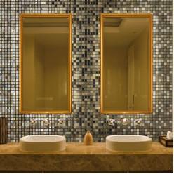 Стеклянная мозаика модели Ezarri Almonds