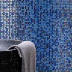 Стеклянная мозаика модели Ezarri Blueberries