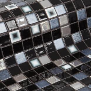 Стеклянная облицовочная мозаика модели Cookies