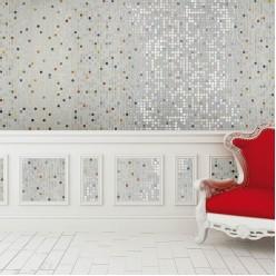 Стеклянная мозаика модели Ezarri Flowers