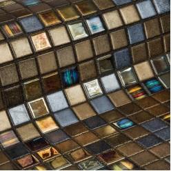 Стеклянная мозаика модели Ezarri Pecans