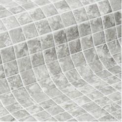 Стеклянная облицовочная мозаика модели Ash 50 Safe
