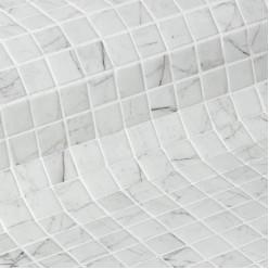 Стеклянная облицовочная мозаика модели Carrara