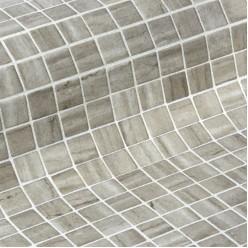 Стеклянная облицовочная мозаика модели Creamstone 50 Safe