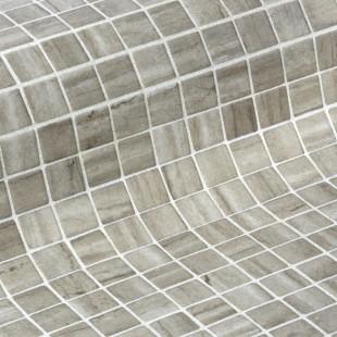 Стеклянная облицовочная мозаика модели Creamstone