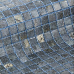 Стеклянная облицовочная мозаика модели Dolerite