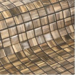 Стеклянная облицовочная мозаика модели Palisandro