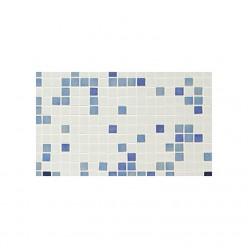 Стеклянная мозаичная растяжка Ezarri  Azul №1