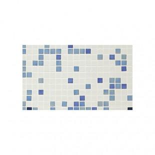 Azul №1 стеклянная мозаичная растяжка для ванн, бассеинов и внутренней облицовки