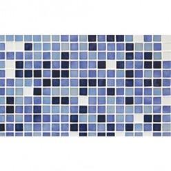 Стеклянная мозаичная растяжка Ezarri Azul №5