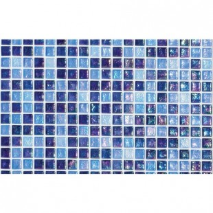 Rock №7 стеклянная мозаичная растяжка для ванн, бассеинов и внутренней облицовки